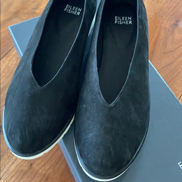 New! Eileen fisher black shoes, 8 1/2